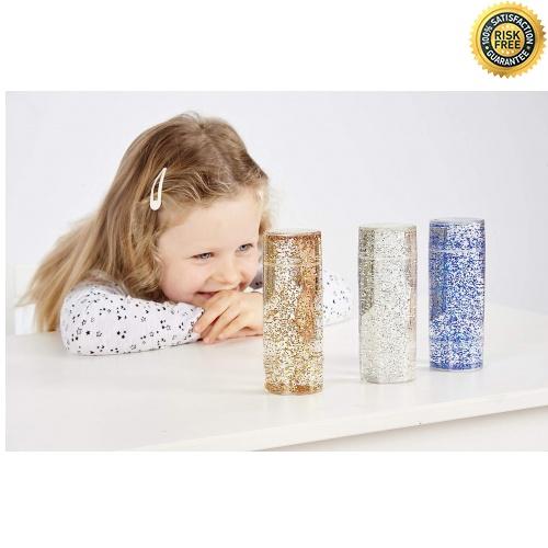TickiT-92104-Conjunto-de-juguetes-sensoriales-con-purpurina-50-mm-de-diametro miniatura 6