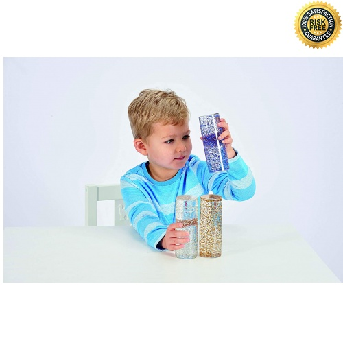 TickiT-92104-Conjunto-de-juguetes-sensoriales-con-purpurina-50-mm-de-diametro miniatura 3