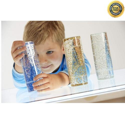 TickiT-92104-Conjunto-de-juguetes-sensoriales-con-purpurina-50-mm-de-diametro miniatura 5